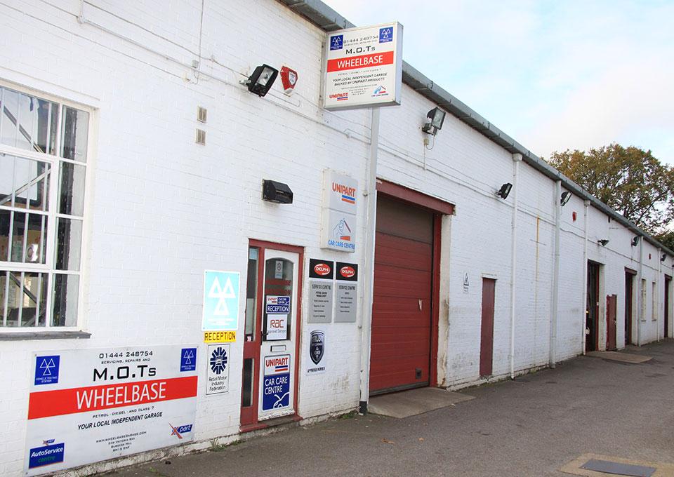 Wheelbase Garage, Burgess Hill, Sussex